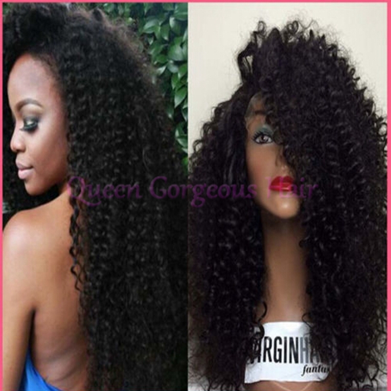 Hair Glueless Full Lace Wig For African American Women Free Shipping