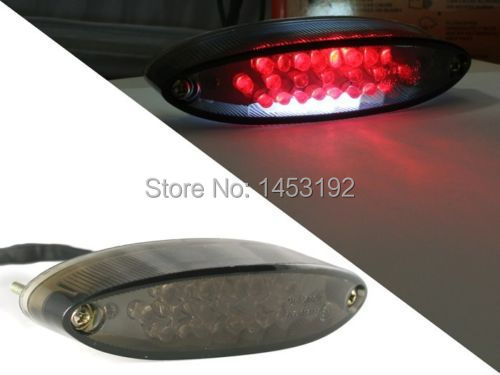 Free Shipping Smoke LED Tail Brake Light For Suzuki ATV LTZ King Quad Runner DR DRZ 650 400 LT(China (Mainland))