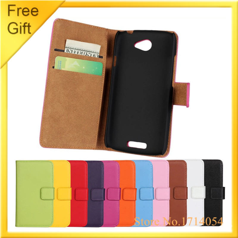 For HTC One S Luxury Mobile Phone Bags Flip Genuine Leather Wallet Cover Case For HTC One S Z520e Z560e Pouch Cases Shell+Gift(China (Mainland))