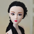 2016 New Design 3D Eyes Supersize Nude Naked XINYI Doll /Long Hair Original 14 Joint Moveable / For DIY Barbie Toy Doll Toys