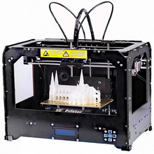 3D Printer with 2 Extruders - Based on MakerBot Replicator2 Better than Reprap(China (Mainland))
