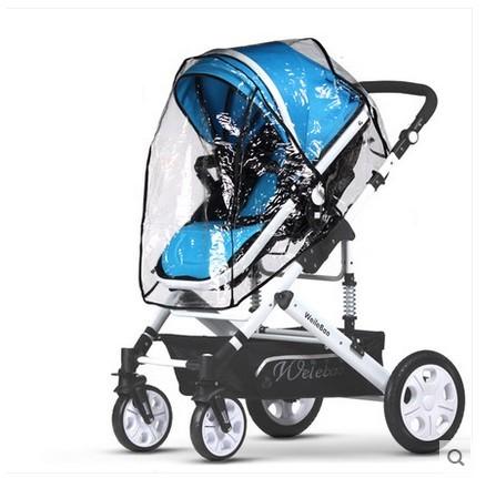 Stroller rain cover stroller rain cover universal car children umbrella stroller / Weatherproof cover stroller rain cover
