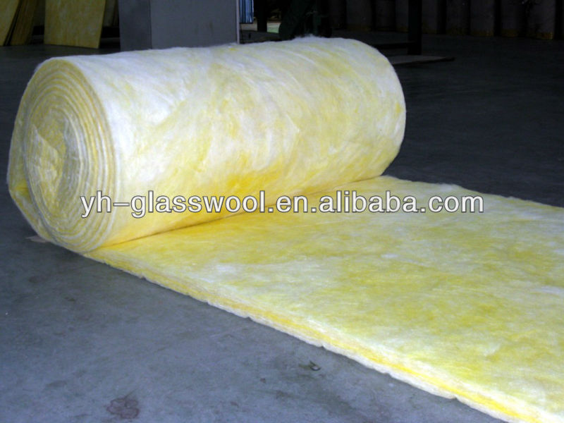 Faced duct wrap insulation fdw fiberglass wool insulation for Fiberglass insulation density