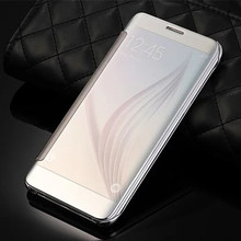 Buy Original Translucent Plated mirror window clear View Flip Cover Samsung Galaxy A3 A5 A7 A8 A9 A310 A510 A710 J1 J5 J7 2016 for $5.50 in AliExpress store