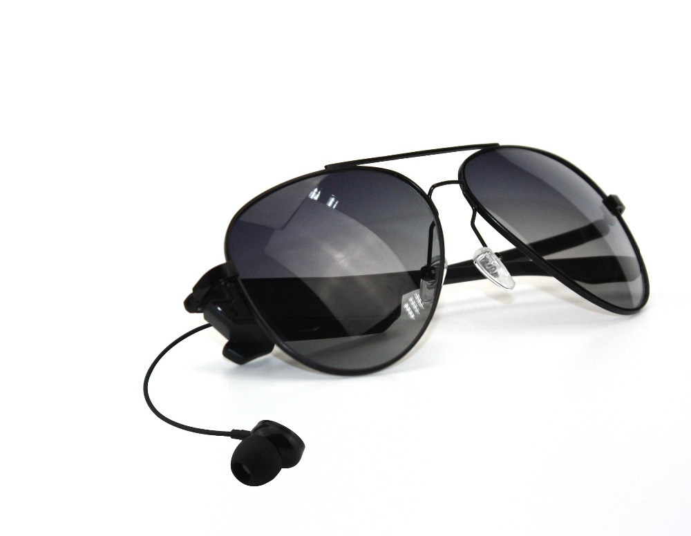 Export Glasses !Warranty Quality ,Sunglasses style mp3 player voice control(China (Mainland))