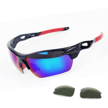 Buy New 2 Pair Lens Polarized Sports Men Women Sunglasses Road Cycling Glasses UV400 Bike Eyewear Outdoor Sports Bicycle Sunglasses for $3.88 in AliExpress store