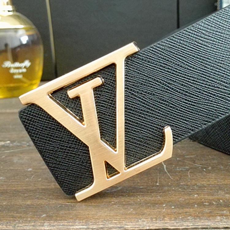 2015 L Men belt Luxury brand leather belt for men /women casual strap fashion designer genuine leather belt man free shipping V(China (Mainland))