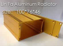 10 pcsAluminum Box Adapter housing Aluminum qualifying 76 46 100 Split aluminum Car shell dedicated