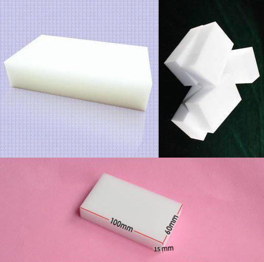 10pcs/lot Melamine Sponge Magic Sponge 2016 New Eraser Melamine Cleaner Eco-Friendly White Kitchen Magic Eraser(China (Mainland))
