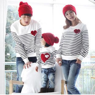 2015 семья мода весна / осень семья пакет хлопок комплект мама / папа / детская одежда, ...