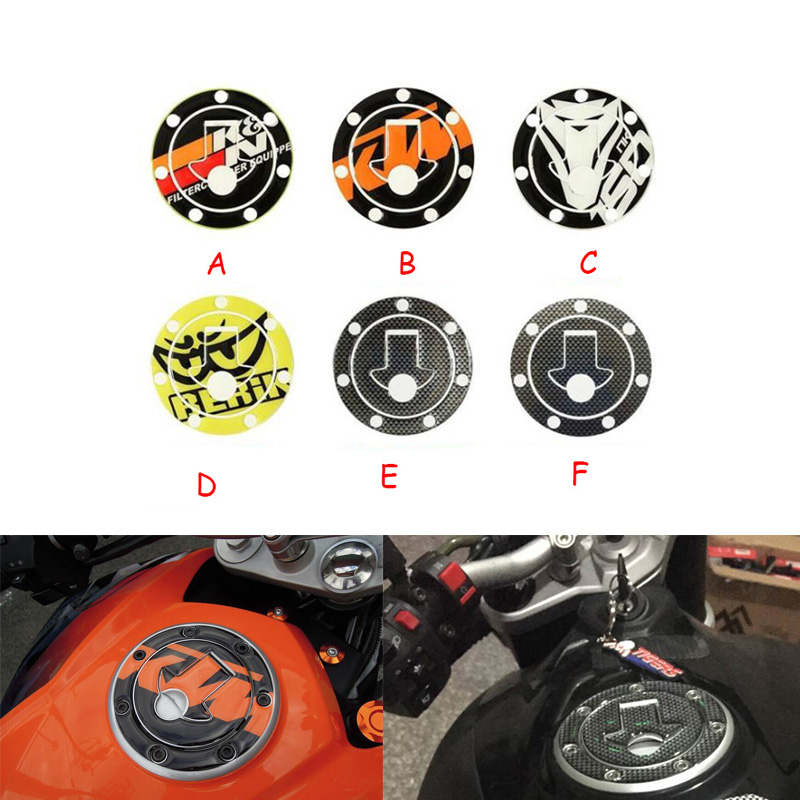 Carbon-Look Fuel Gas Cap Cover Pad Sticker For Honda CBR 600RR F4i Motorcycle Fuel Tank Cover For CFMOTO 150NK / KTM DUKE200 390<br><br>Aliexpress