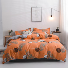 Kid Child Teen Boy Girl Bedding Set High-quality Bedclothes 2/3/4pcs Bedding Set Quilt Cover Flat Sheet Pillow Cases(China)