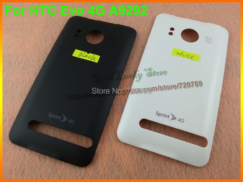 100% Original New Back Battery Housing Cover Case Door Replacement For HTC Evo 4G A9292 with LOGO+Tracking No free shipping(China (Mainland))