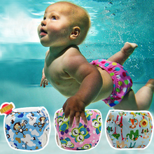 Reusable Baby Swimwear Diapers Babies Girls Boys Swimsuit Infant Adjustable Bathing Suits Kids Diaper Leakproof Nappy Swim Wear(China (Mainland))