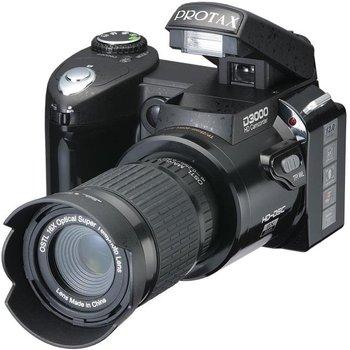 "New types D3000 Digital SLR camera photos 16MP3.0 ""LTPS screen, +16 times telephoto lens + wide angle lens"