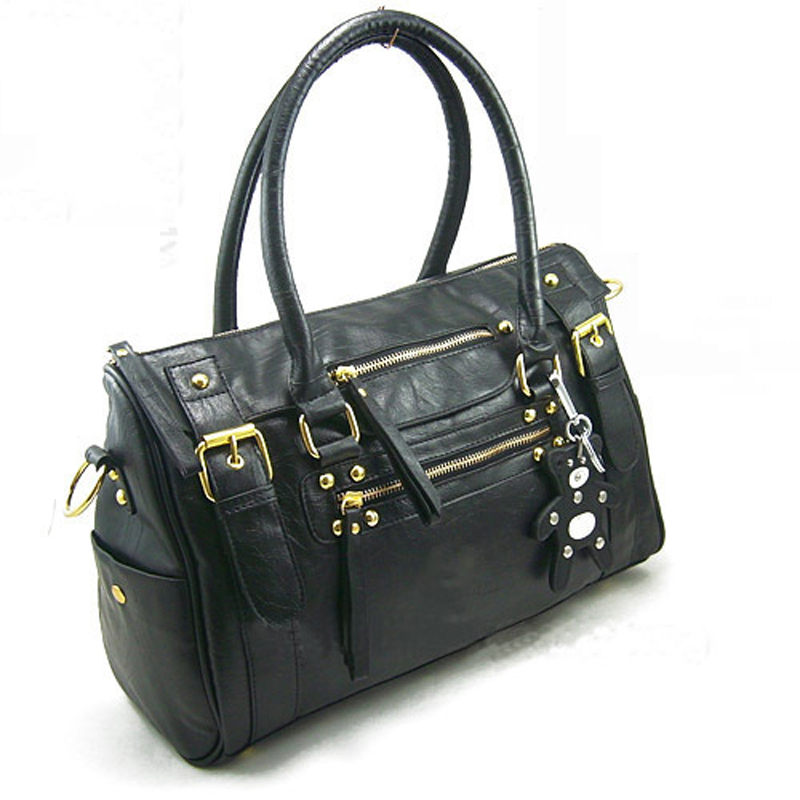 2015 New Vintage Women Handbag Simple Pure color PU Leather Fashion Designer Handbags Women Shoulder Bag Messenger