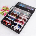 16 grid transparent cover glasses display multifunction display box storage box storage display box sunglasses wholesale