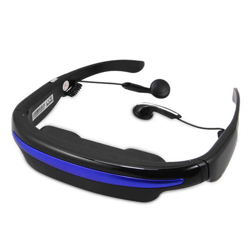 "COOL 52"" 4:3 Virtual Wide Screen HD 3D Stereo Video Glasses Eyewear Mobile Theater Digital Card Slot Built-in 4GB Flash Memory(China (Mainland))"