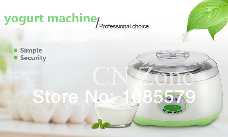fully-automatic yogurt machine maker diy thickening stainless steel rice natto liner household kitchen appliances