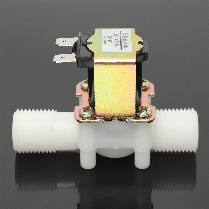 1/2 дюймов новейший Электрический электромагнитный клапан 12 V Магнитная DC N/C воды aeProduct.getSubject()