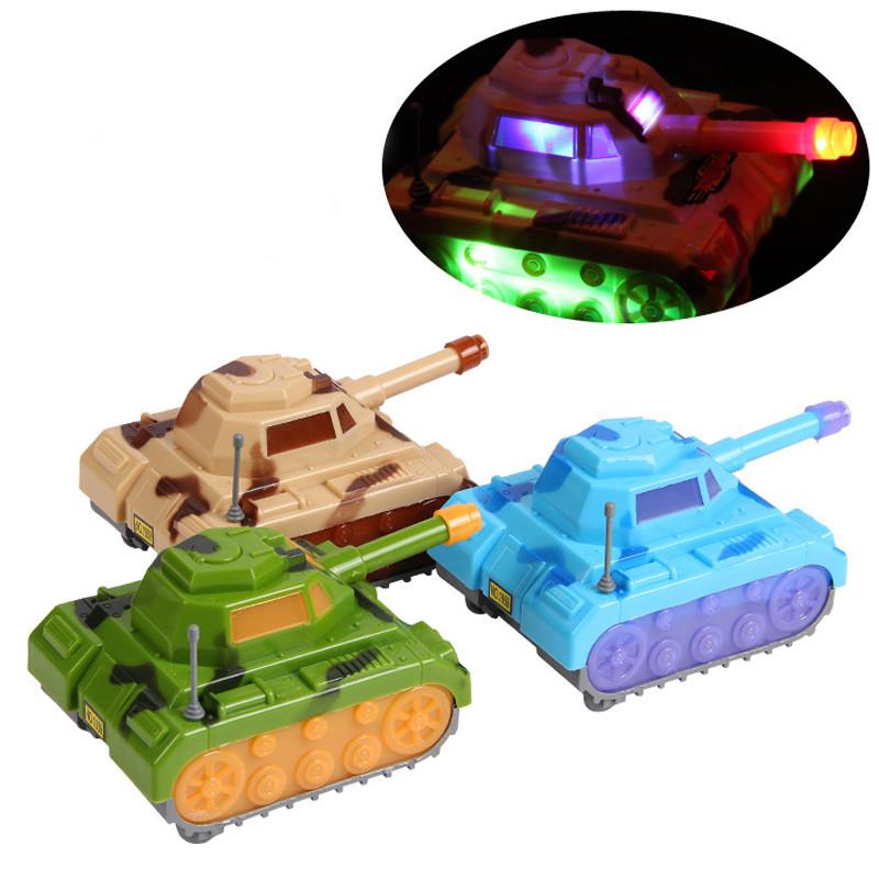SSXZ Color Random Tanks Car Electronic Toys Make Sound & The Light Funny Baby Toys Parent-child Toy Brinquedo(China (Mainland))