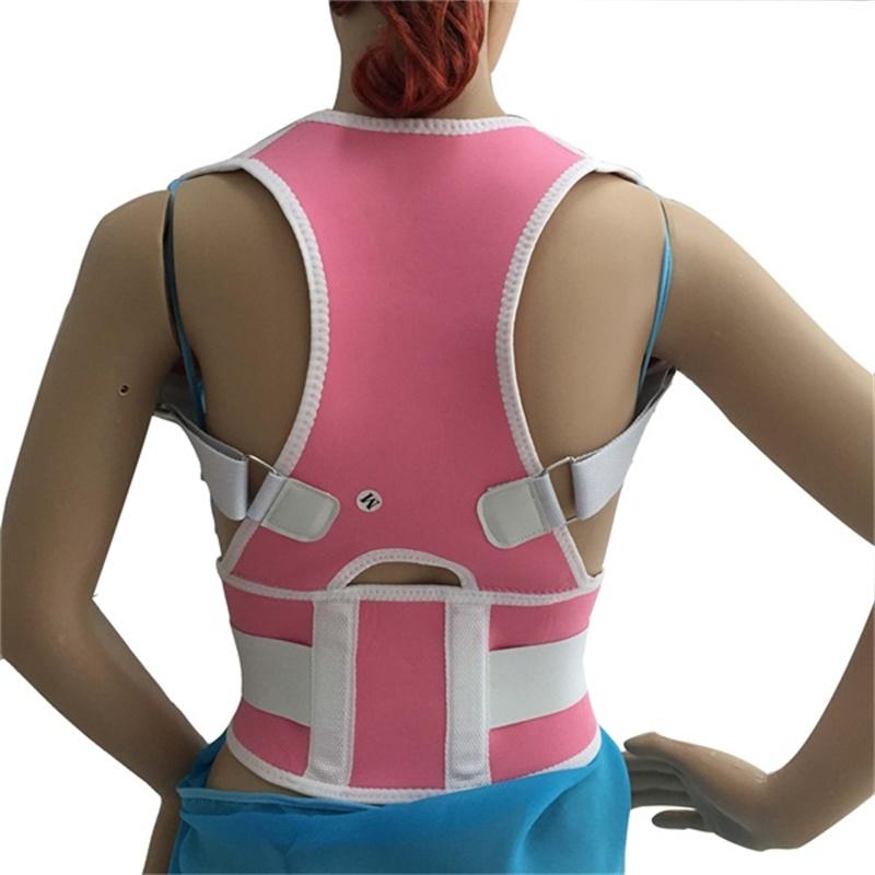TV Hot Magnetic Posture Support Spine Stretch Shoulder Back Vest Adjustable Posture Belt(China (Mainland))
