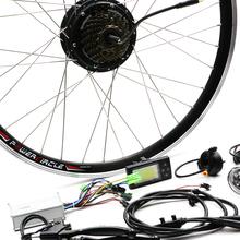 "Buy JS 36V 250w Motor Bicicleta Electric Bicycle Bike Conversion Kit 20"" 26"" 700C Rear Wheel for $302.40 in AliExpress store"