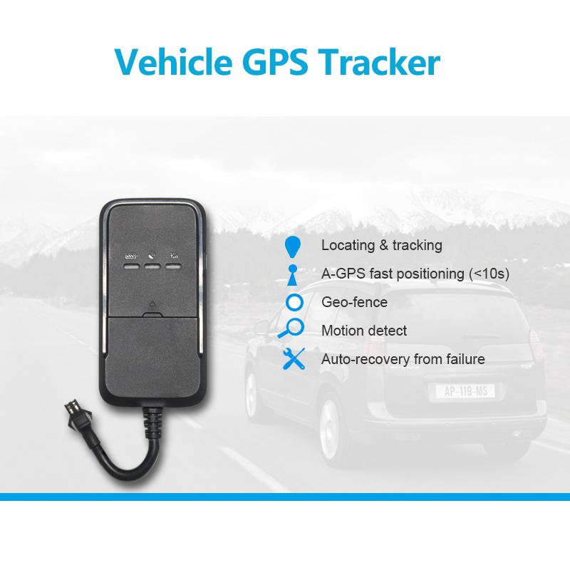 Vehicle GPS Tracker GPS + GSM + GPRS wireless network Check location via SMS/APP/platform A-GPS fast positioning (<10s)(China (Mainland))
