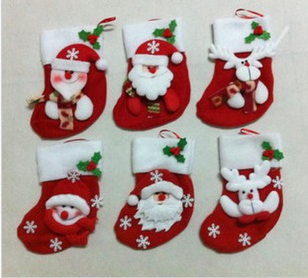 Christmas tree christmas stockings near a decorated christmas tree