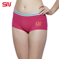 Fashion brand women s cotton women boxing quality sexy lingerie panties shorts constellation Taurus yp7