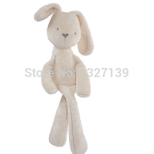 54*11CM Cute Baby Kids Animal Rabbit Sleeping Comfort Doll Plush Toy