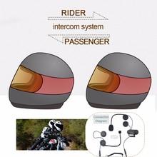 (1set) Good News!!! To Intercom Talking Pillon Passenger Motorcycle Bluetooth Intercom Helmet Headset TCOM-02S