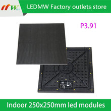 Factory wholesale P3.91 led module Size 250 x 250mm For video wall  Best Sell in Europe Australia North America(China (Mainland))