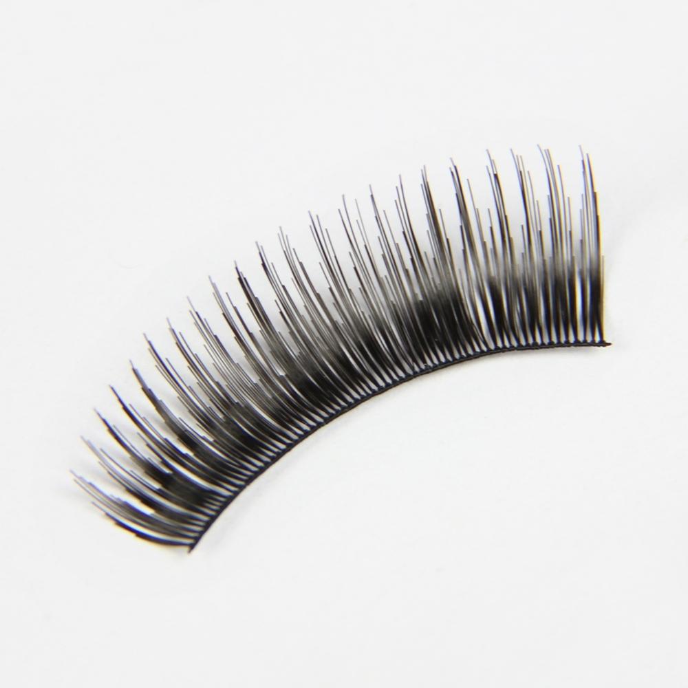Free Shipping 12 Rows 8mm All Curl artificial Eyelash Fake False Eye Lash Extension Black(China (Mainland))