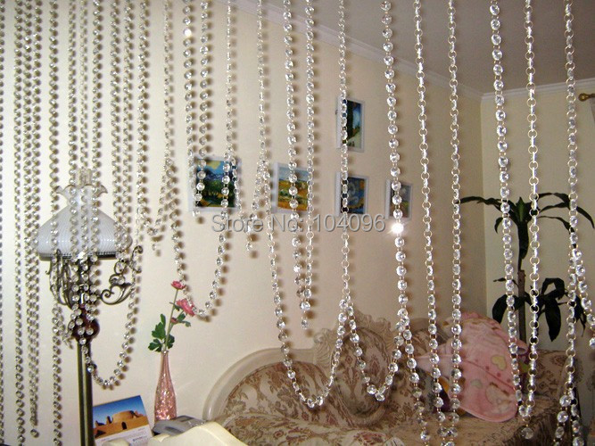 Online Buy Wholesale acrylic beads curtain door from China acrylic ...