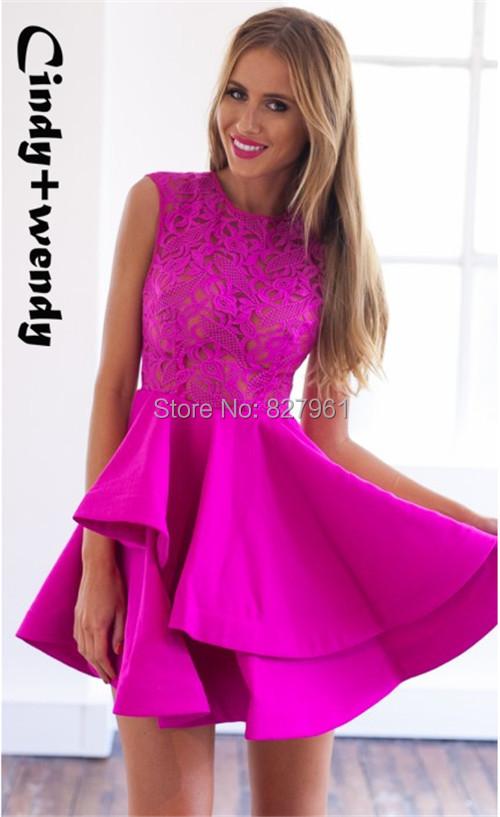 Женское платье Cindy+wendy 2015 #D192 D193 cindy