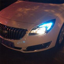 2 Pairs 30LEDs 2835 500LM T20 LED Clearance Lights DRL case for Buick New Regal Opel Insignia 2014~ON(China (Mainland))