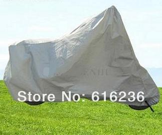 Free shipping!! XXL size motorcycle covering,scooter cover,heavy racing bike 285cm*105cm*127cm