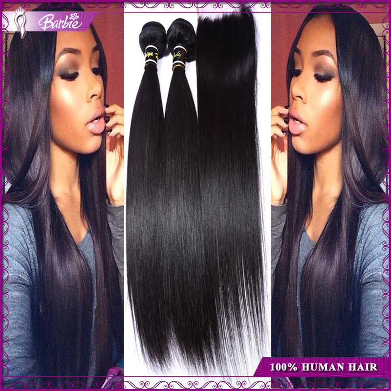 Barbie Hair , 3 3Bundles barbie