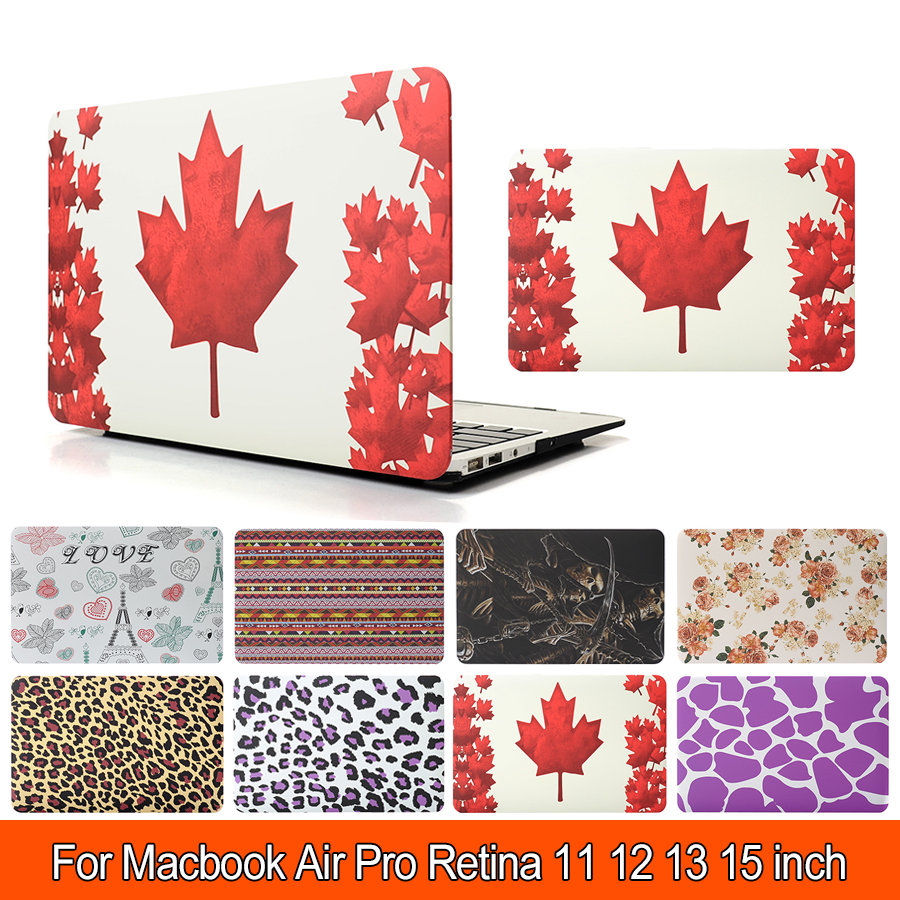 New Flag Cute Print Hard Case For Apple Macbook Air Pro Retina 11 12 13 Retina 15 Laptop Bag For Mac book 13.3 inch Tablet PC(China (Mainland))