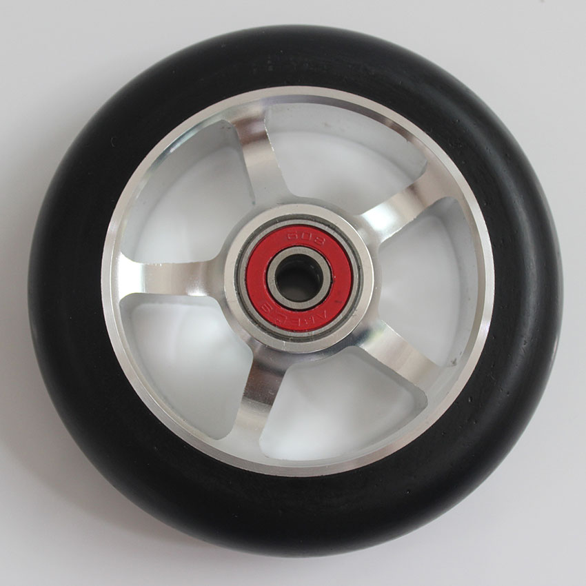 Free shipping! 2PCS 100x24mm! pro scooter wheels with metal core/anodizing coloration and super rebound<br><br>Aliexpress