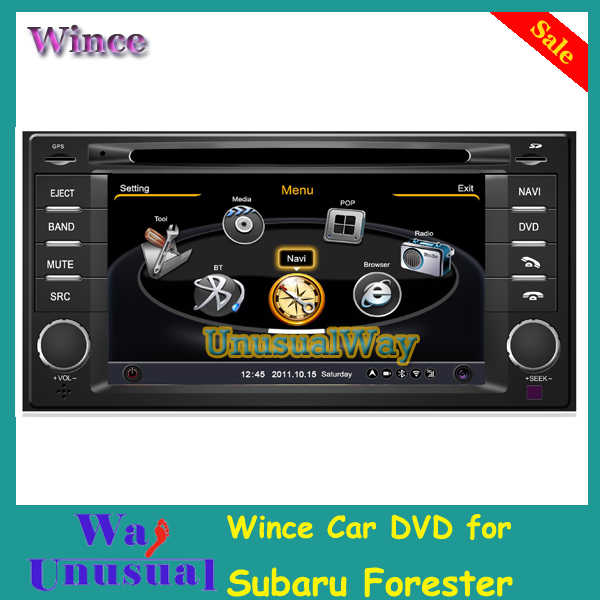 S100 1G CPU Car GPS For Subaru Forester With Stereo A8 Chipset Dual Core 3 Zone POP 3G Wifi BT FM Radio 20 Dics Playing Free Map(China (Mainland))