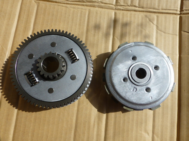 Motorcycle accessories SDH150-15 CBX150 FCC electric foot start clutch assembly(China (Mainland))
