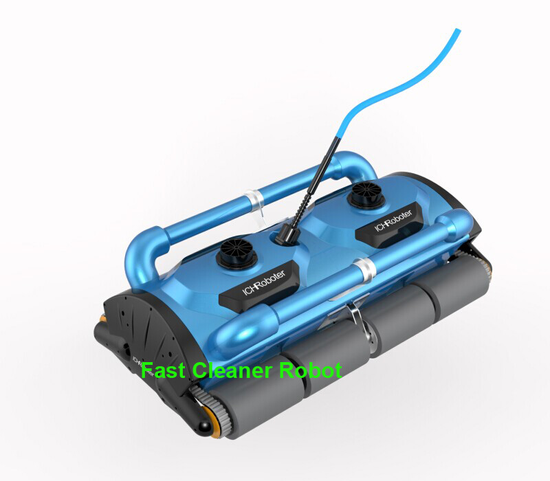 Newest Commercial Use Robot Swimming Vacuum Cleaner Pool Cleaner For Big Pool Cleaning Capacity