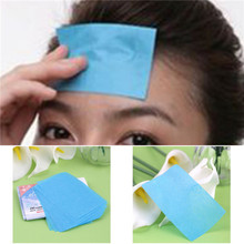 1 pack  (50 Pcs) Paper Pulp Random Facial Oil Control Absorption Film Tissue Makeup Blotting Paper Free Shipping