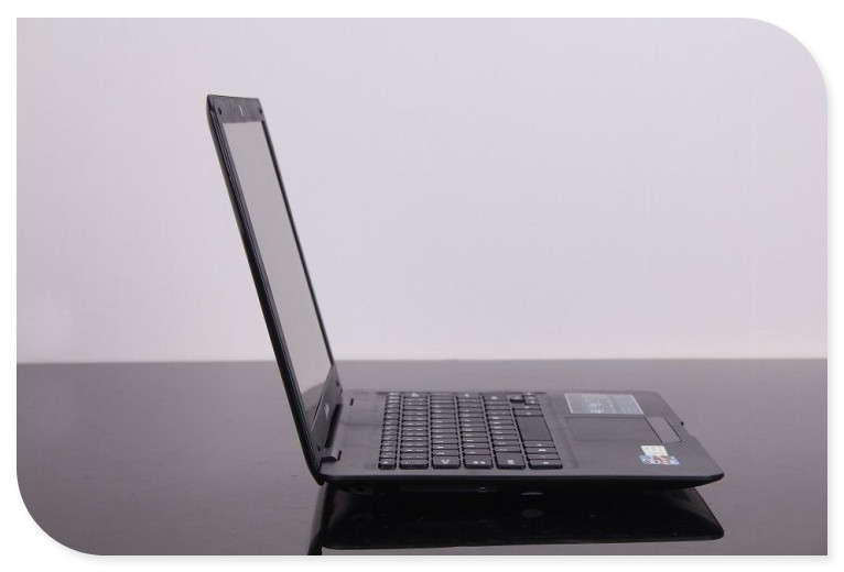 Free shipping Cheapest 13.3inch ultra slim notebook computer J1800 2.41Ghz dual core camera WIFI