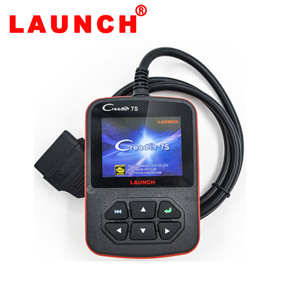 2015 100% Original Launch X431 Creader 7S Code Reader VII Plus +Oil Reset Function Creader 7 Plus Update Via Official Website
