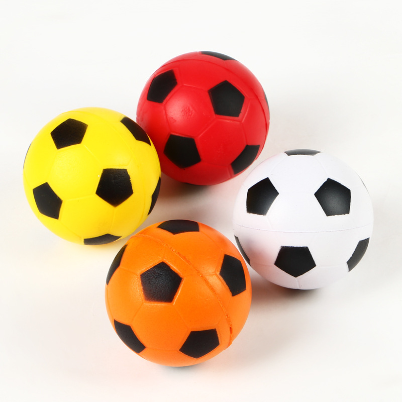 PU funny Sponge anti stress ball surprise bouncy science caomaru antistress toy football Children funny gadgets gift(China (Mainland))