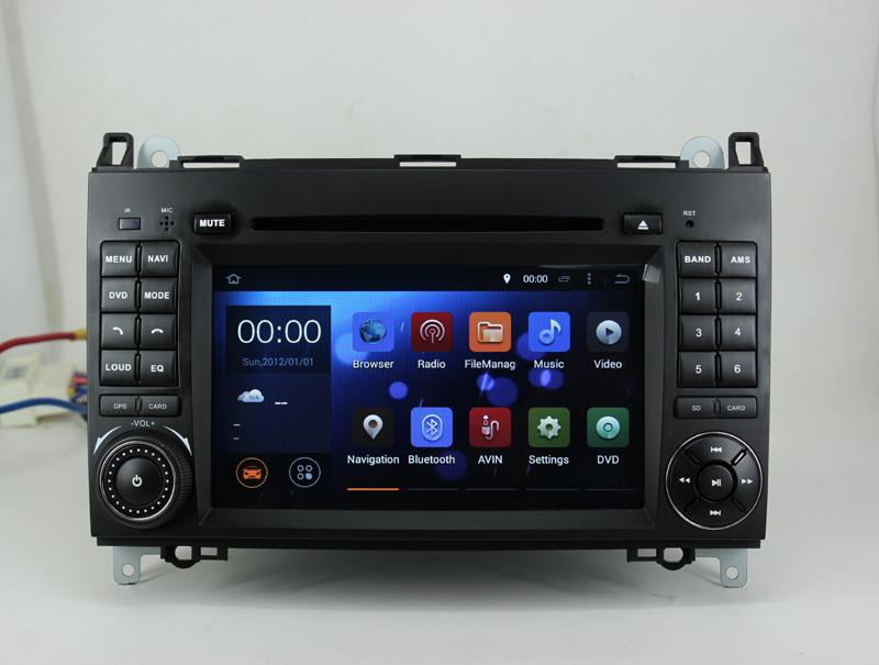Android 4.4.4 Car DVD Player GPS Car Radio CPT A9 Dual-Core CPU WIFI 3G For Mercedes Benz A W169 B W245 Vito Viano Sprinter(China (Mainland))
