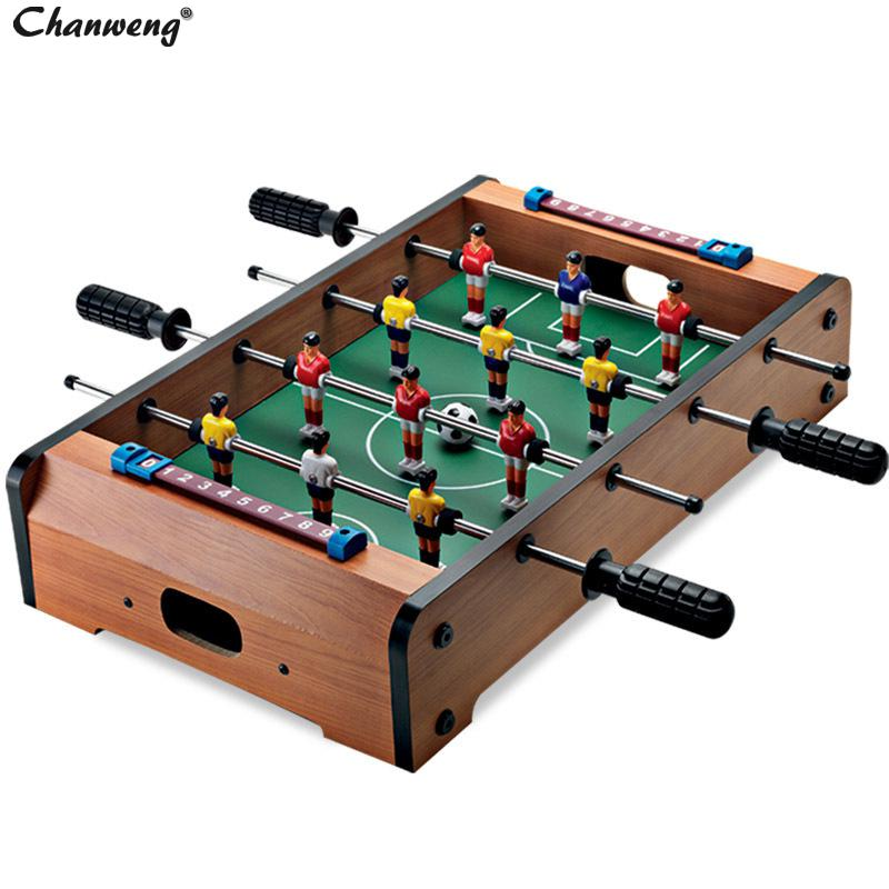 Table Top Foosball Desktop Soccer Game Office Table Football Game Billiard Soccer Ball 51*31*9.6 CM(China (Mainland))